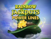 Rainbow Jackpots Power Lines logo