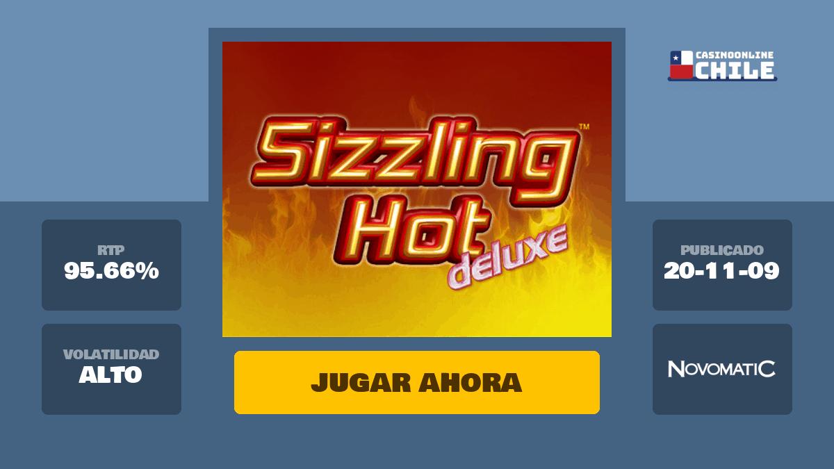 Tragamonedas Sizzling Hot Deluxe Gratis