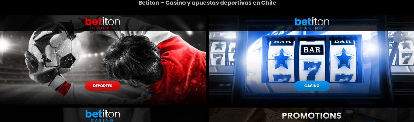 La plataforma de Betiton ofrece a los chilenos el acceso a lo mejor de los casinos
